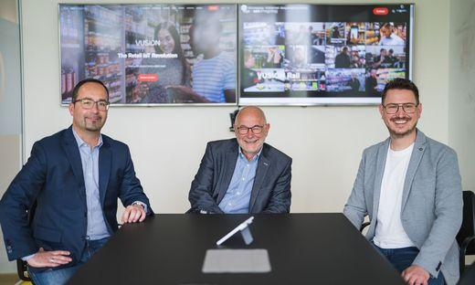 Imagotag-Lenker: Christian Weißensteiner, Michael Moosburger, Andreas Rößl