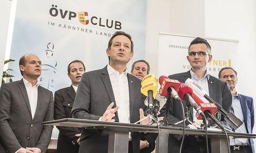 In der ÖVP war man am Dienstag bemüht, demonstrativ Geschlossenheit zu zeigen