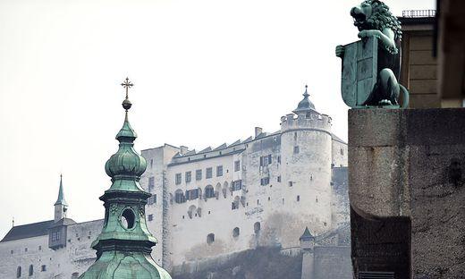 Der Bursche zündelte nahe der Festung Hohesalzburg