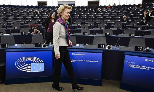 EU-Kommissarin von der Leyen