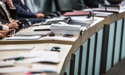 Landtag Kaernten Budgetsitzung