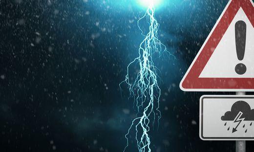 Blitzeinschlag mit Folgen iin Unterkärnten.