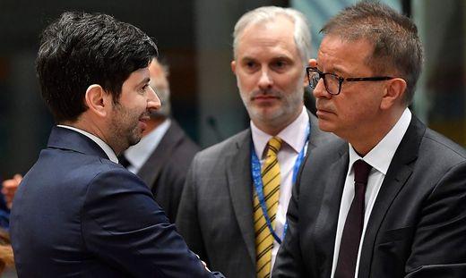 Anschober bei den EU-Kollegen
