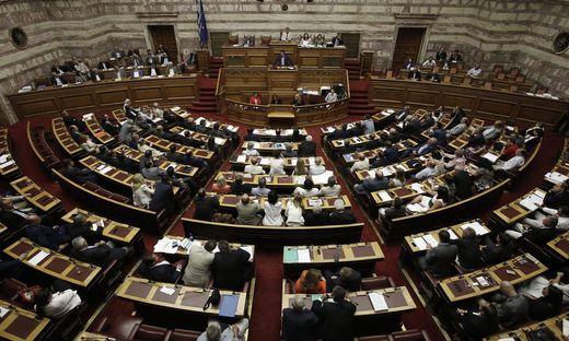Das Parlament in Athen stimmte mehrheitlich für das neue Gesetz