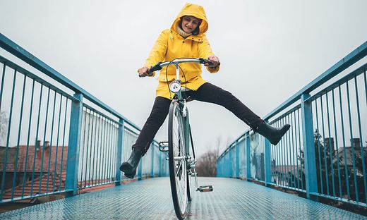Radfahren im Winter? Kein Problem! Allerdings sollte man ein paar Dinge beachten.