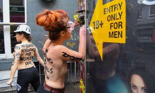GERMANY-FEMEN-PROTEST-WOMEN