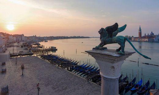 Still und schön wie nie: Venedig gehört derzeit den Venezianern