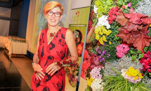 Nach der Blumenolympiade ist vor Blumenolympiade: Regina Kneß kümmert sich das ganze Jahr um die Veranstaltung