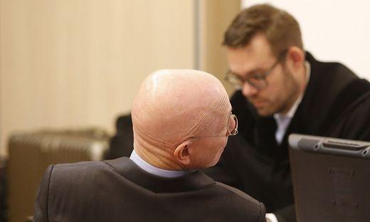 Aucon-Vorstand Heinz Liebentritt beteuert seine Unschuld