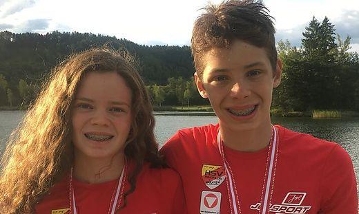 Leonie und Jonas Hauser aus Dölsach