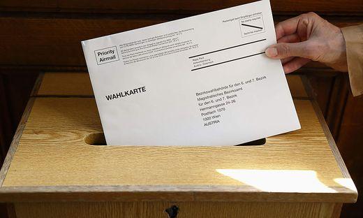 NR-Wahl 2019: Briefwahl - Waehlen mit Wahlkarte