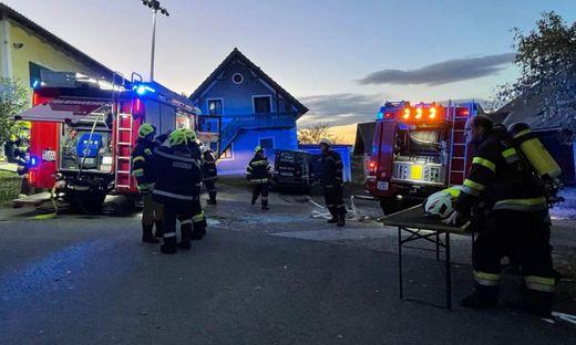 45 Feuerwehrleute von drei Wehren standen im Einsatz