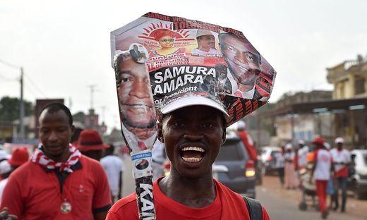 Wahlkampf in Sierra Leone