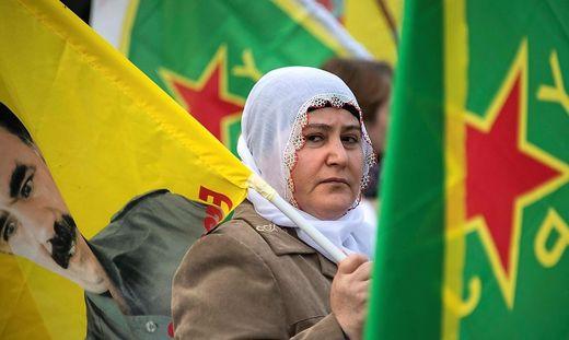 Eine Demo der PKK (Symbolbild)