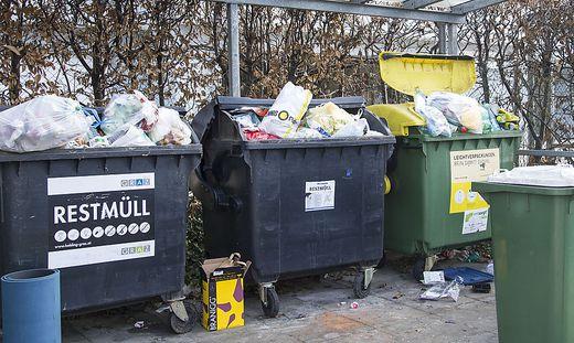 Müllthema wird in Graz debattiert