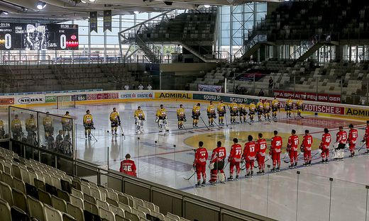 ICE HOCKEY - Capitals vs KAC, test match