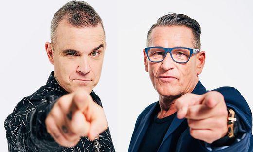Robbie und Klaus nehmen das Konzertjahr 2022 gemeinsam ins Visier