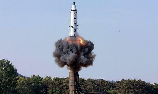 Nordkoreanischer Raketentest