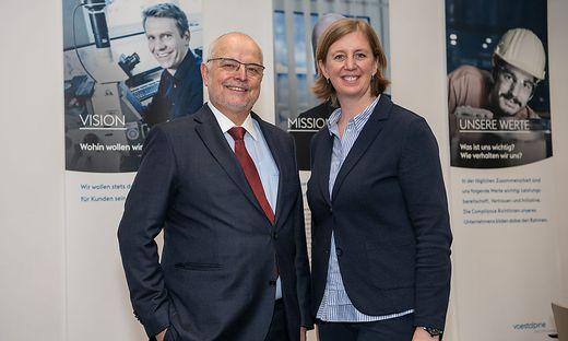 Franz Rotter und Barbara Eibinger Miedl stellten am Mittwoch den neuen Forschungsverbund vor