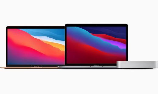 Neu mit M1-Chip: Macbook Air, Macbook Pro, Mac Mini