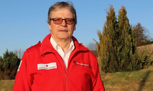 Siegfried Spöck (68) engagierte sich seit 40 Jahren beim Roten Kreuz in St. Veit und Klein St. Paul