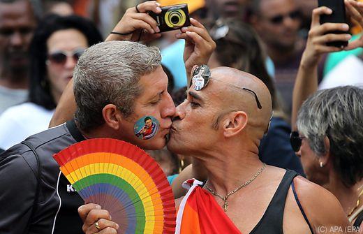 Lesben auf