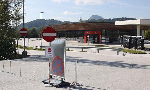 Die Autogrill-Raststation an der S 37 hat geschlossen