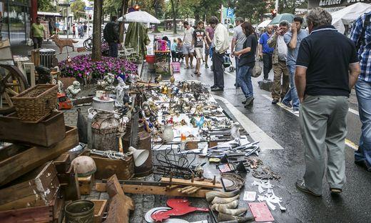 Ab 7 Uhr beginnt heute der Flohmarkt rund um den Domplatz
