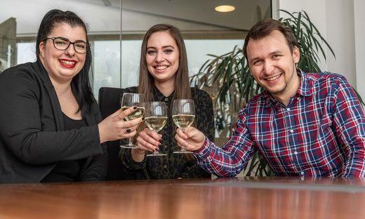 IdeenTriebwerk Graz: Denise Vorraber, Julia Leitinger und Werner Sammer