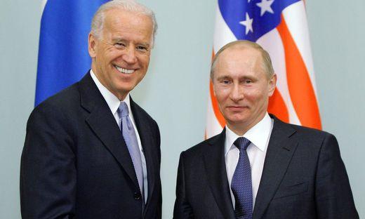 Biden und Putin auf einem Archivfoto von 2011