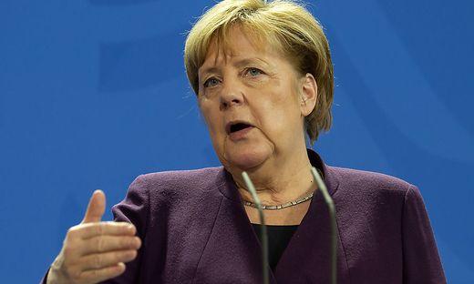 """Merkel spricht von """"unverzeihlichem Vorgang"""""""