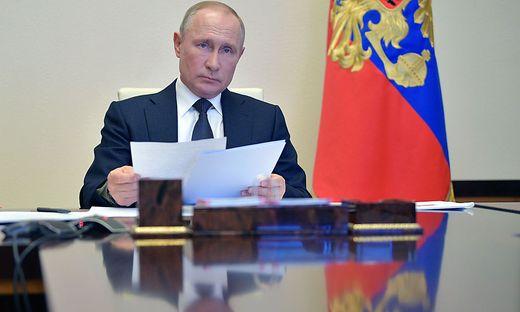 Russlands Staatspräsident Wladimir Putin