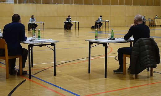 Gemeinderat in der Hartberghalle