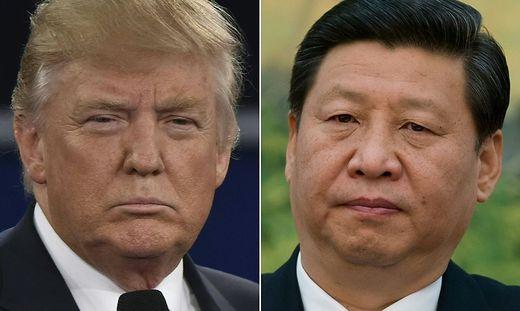 US-Präsident Donald Trump und Chinas Staatschef Xi Jinping