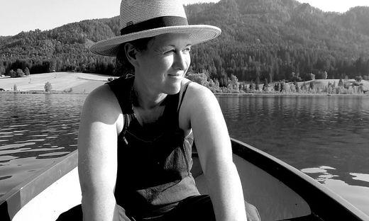 Elisabeth Scharang lebt in Wien, Erholung sucht sie gerne in der Natur
