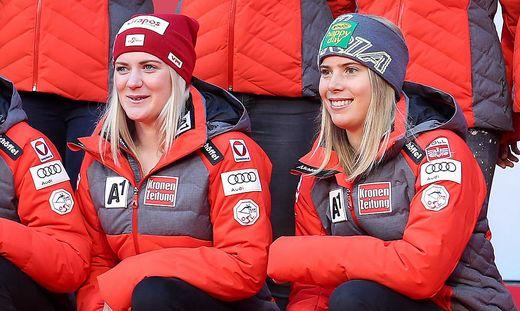 Slalom: Diese ÖSV-Damen nähern sich der Elite an ...