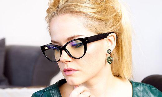 In den Bügeln der Brille steckt die Touch-Bedienung