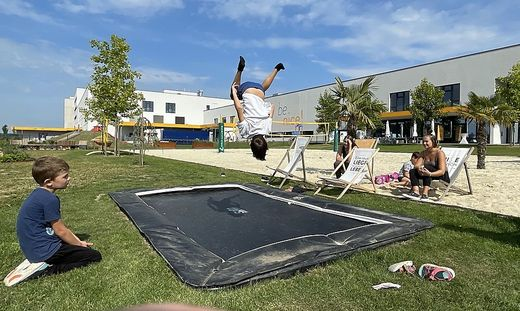 Auch in den Sommermonaten bietet Niceshops Mitarbeitern Kinderbetreuung an