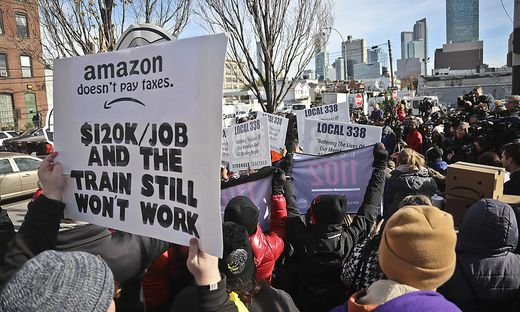 Nach Protesten baut Amazon nun doch nicht in New York