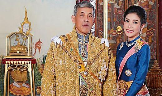 Geliebte Sineenat Wongvajirapakdi ist beim thailändischen König in Ungnade gefallen