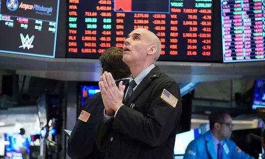 Tiefrote Zahlen verunsichern an der Wall Street (Symbolbild)