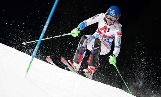 Petra Vlhova siegte