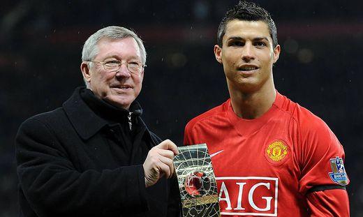 Ferguson und Ronaldo