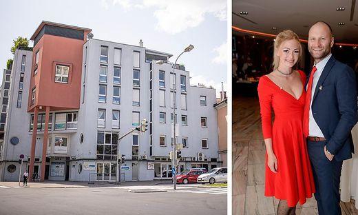 Janin Baumann und Christoph Überbacher werden im Erdgeschoss der Stadt Triest ein Lokal, einen Feinkostladen und weitere Projekte errichten.
