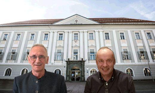 Werner Koch und Robert Kruschitz