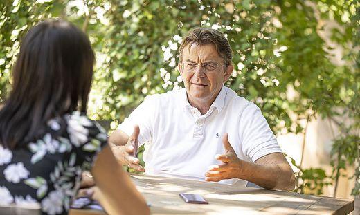 Sommergespräch mit Hannes Jagerhofer