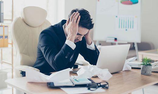 Viele Arbeitnehmerinnen und Arbeitnehmer stehen unter Zeitdruck