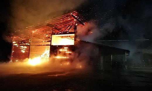 Eine Hackschnitzelanlage in Stadl-Predlitz geriet am 14. Jänner in Brand