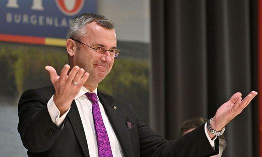 FPÖ-Bundesparteichef Norbert Hofer ist nun auch FPÖ-Obmann im Burgenland
