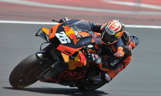 MotoGP Private Test In Misano World Circuit Daniel Pedrosa of Spain and Tech 3 KTM Factory Racing during MotoGP tests i
